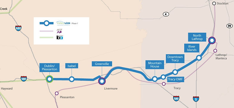Proposed Valley Link Project