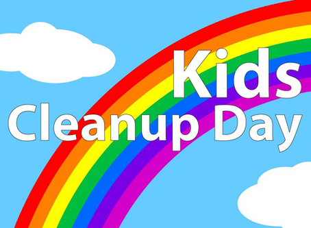 KIDS CLEAN-UP DAY!