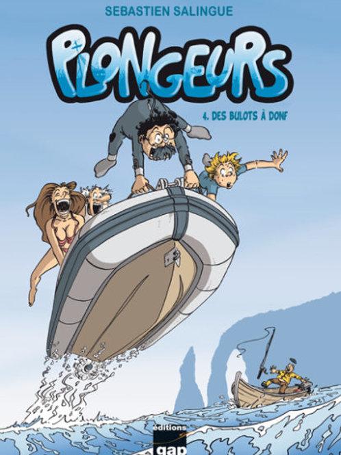 Plongeurs T4 – Des bulots à donf