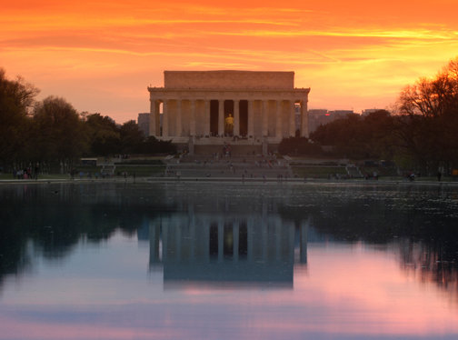 Lincoln Memorial at Sunset - C101