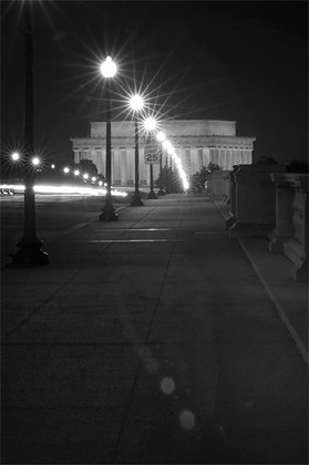 Lincoln Memorial at Night - B111