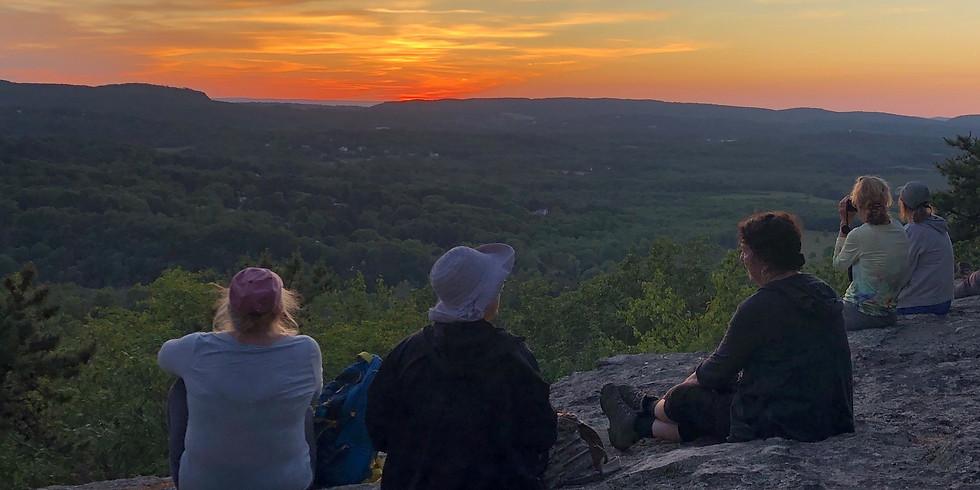 WoW Sunset Hike, Mt Pisgah, Durham