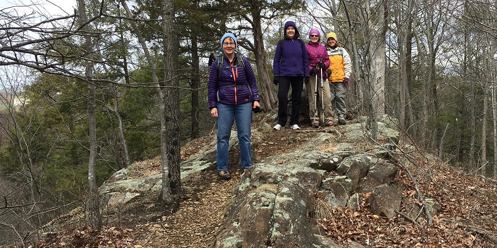 WoW Hike at Tyler Mill Preserve, Wallingford - 4/24