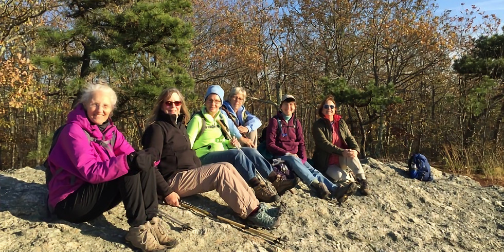 WoW Hike at Rockland Preserve, Madison - 11/6