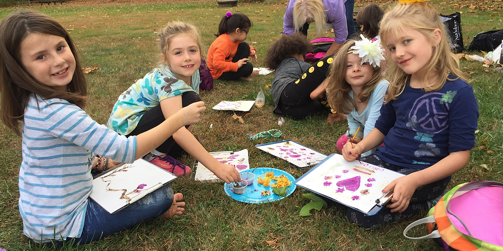 Painting with Plants Family Program