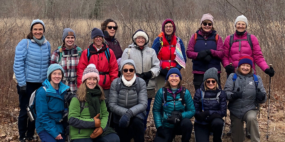 WoW Hike at Rockland Preserve, Madison - 3/3