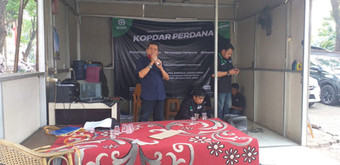 Sosialisasi dari Tema Jabodetabek untuk Mitra yang hadir