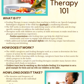 Introduction to Feeding Therapy