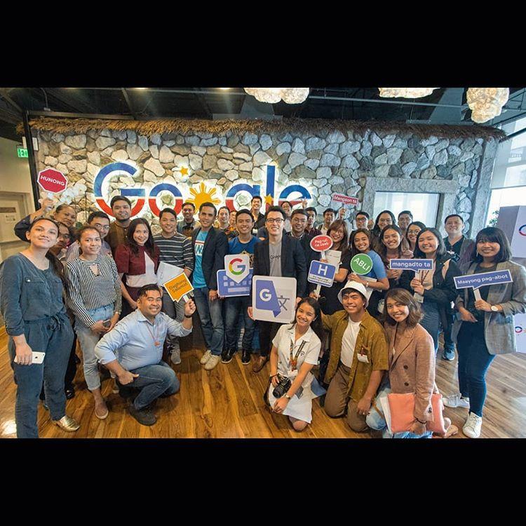 Google Philippines Baybayin CalligraFilipino group photo