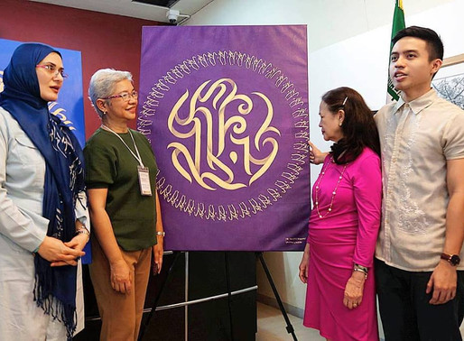 Iran and Philippines calligraphy exhibit - Art as a Harbinger of Peace Among Nations