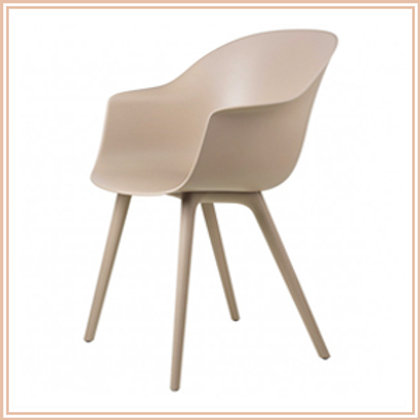 Bat Dining Chair, Outdoor, New Beige