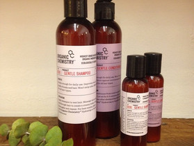New! Organic Chemistry Shampoos and Conditioners!
