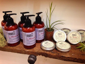 New hair products by Organic Chemistry!