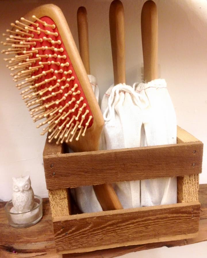 Wood Bristle Brushes