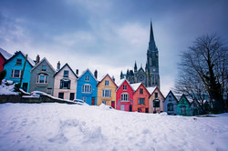 Cobh Colourful Houses