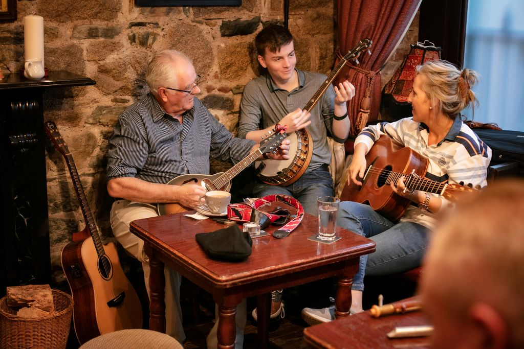 Trad sessions across Ireland