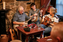 Trad sessions across Ireland