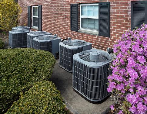 High efficiency modern AC-heater unit, e