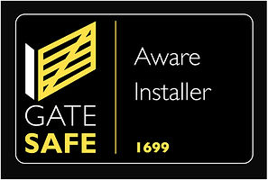 Gate safe logo company 1699 Gee Communic