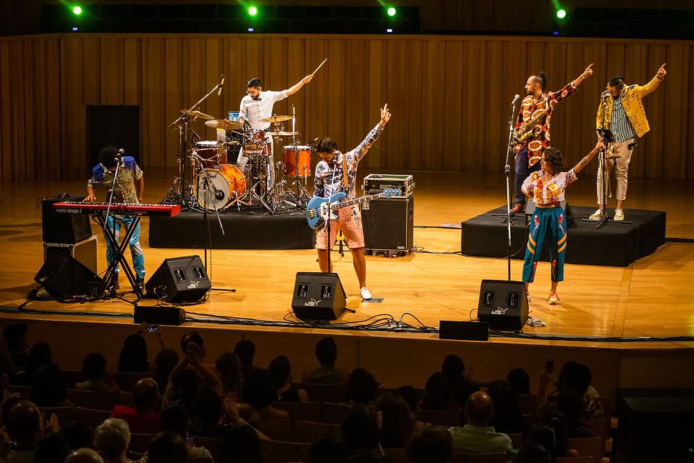 Puerto Candelaria concierto usina del arte buenos aires