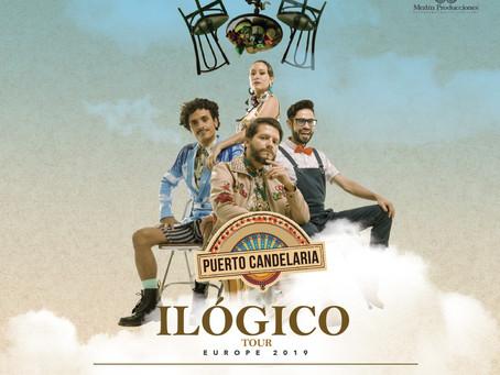 Ilógico Tour: Los Candelarios en Europa del este