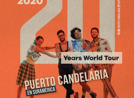 """Comienza la celebración del los 20 años: Puerto Candelaria inicia su """"202020"""" en Chile y Argentina."""