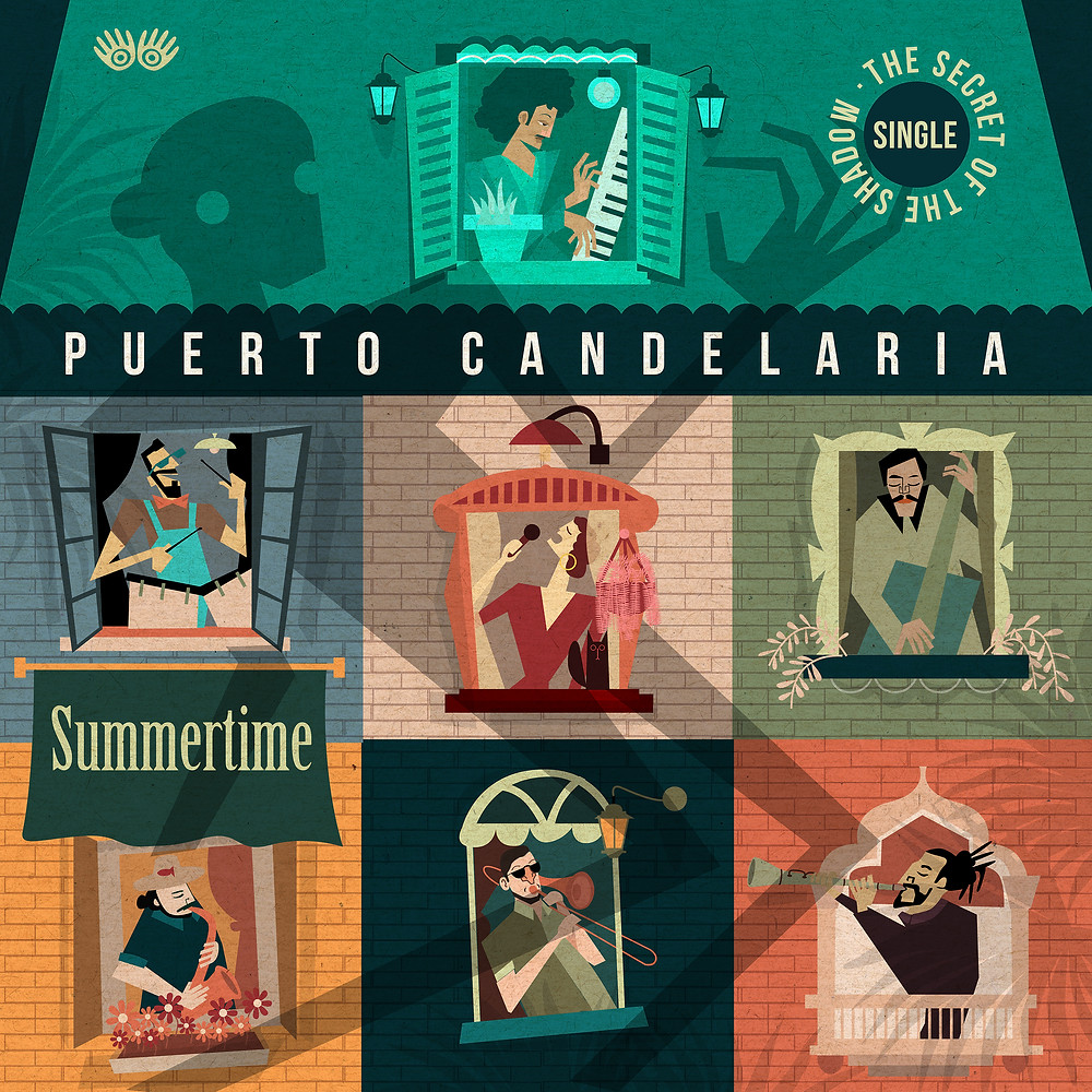 Puerto candelaria summertime the secret of the shadow jazz