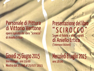 "Art Gallery Provincial Museum of Potenza Italy June 25, 2015> the project ""Scirocco"" of"