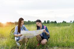 two girls navigating life