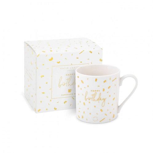 Happy Birthday - Boxed Porcelain Mug