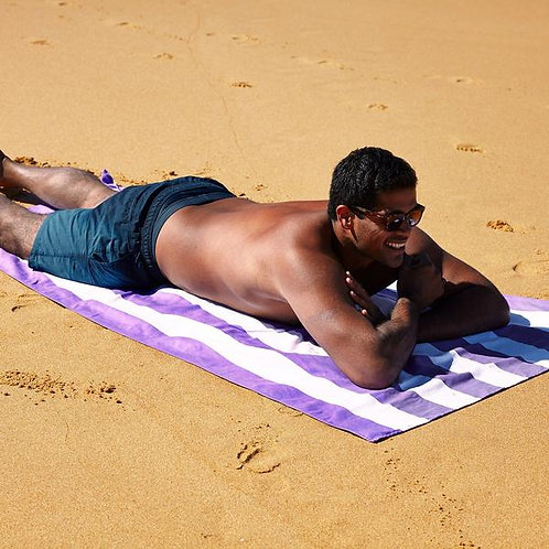Brighton Purple - Quick dry towel