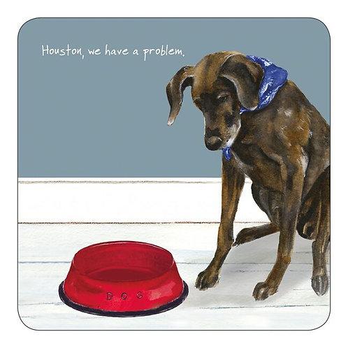 German Pointer Dog Coaster – Houston