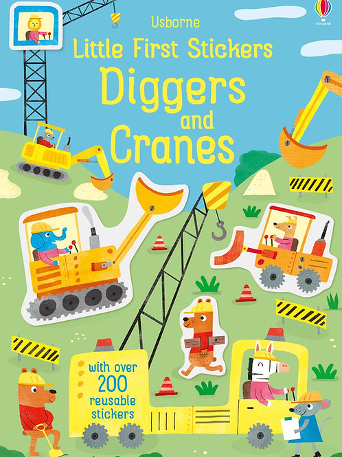 Diggers and Cranes - My First Sticker Book