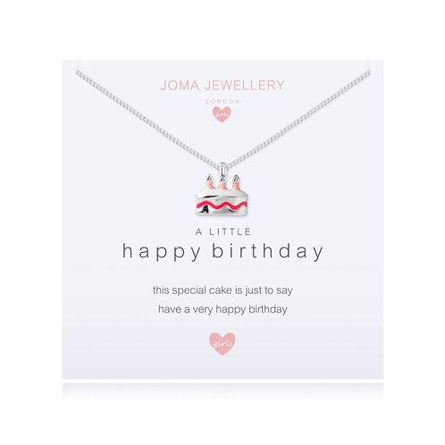 A Little Happy Birthday - Childrens Necklace