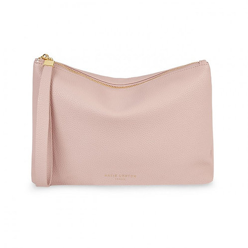Isla Clutch - Pale Pink