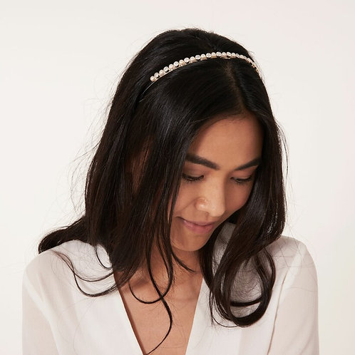 PEARL AND CRYSTAL HAIR BAND    - HAPPY EVER AFTER BRIDAL JE