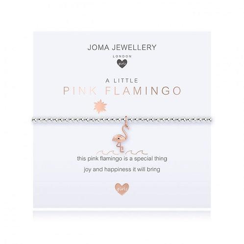 A Little Pink Flamingo  - Childrens Bracelet