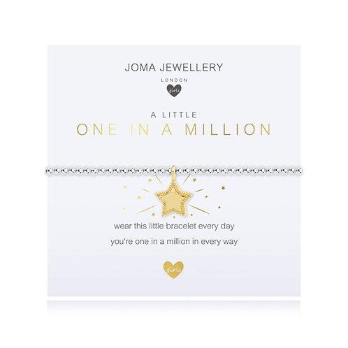 A Little One in a Million - childrens bracelet