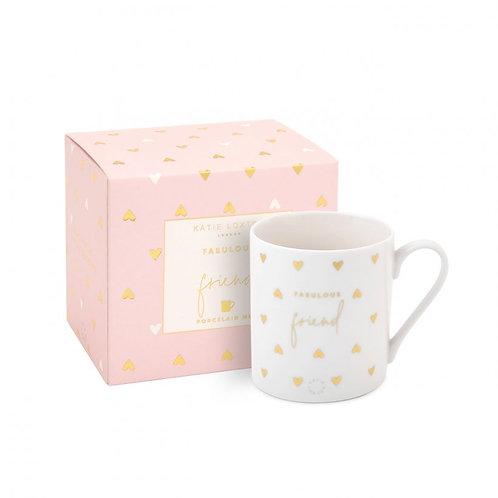 Fabulous Friend - Boxed Porcelain Mug