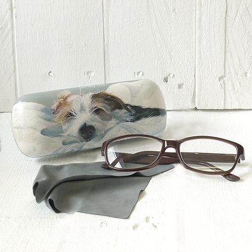 Scruffy Love Glasses Case