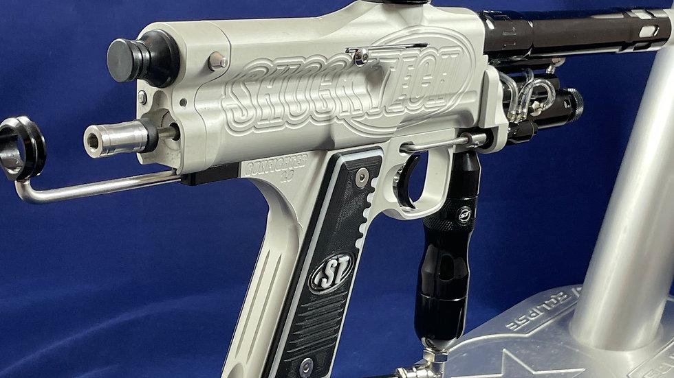 ShockTech SFL Autococker Silver Dust/Black *pre-owned*