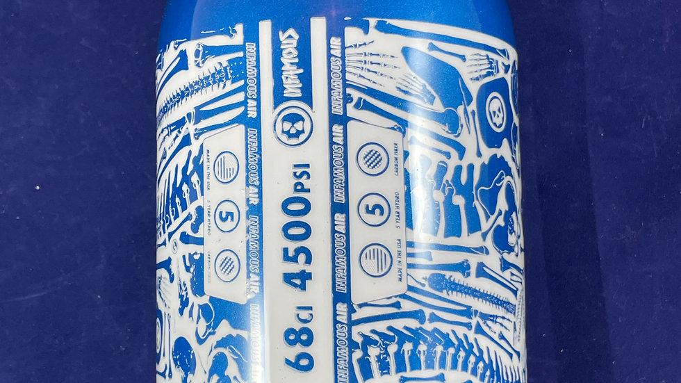 Infamous 68ci Tank Skulls - Blue/White