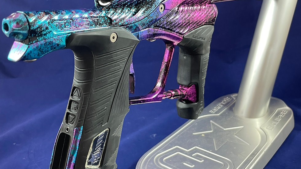 Planet Eclipse LV1 Twister Custom Anodized 3 color fade/acid washed