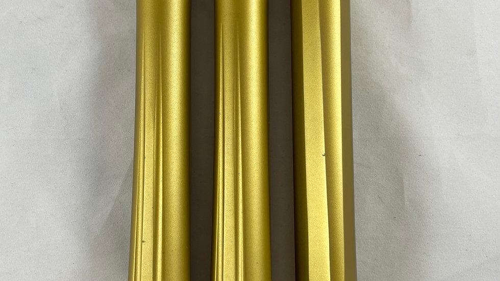 Custom anodized gold PE shaft 5 barrel back .689