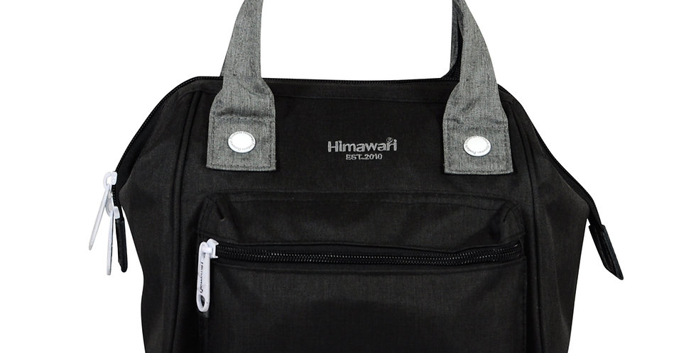 Himawari Petunia 3-Way Sling Bag(SS913)-Black