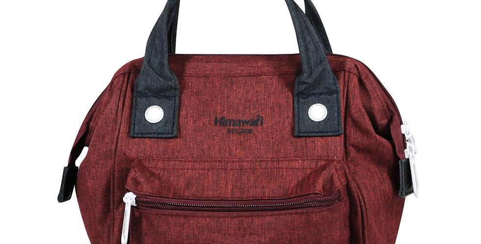 Himawari Petunia 3-Way Sling Bag(SS913)-Wine Red