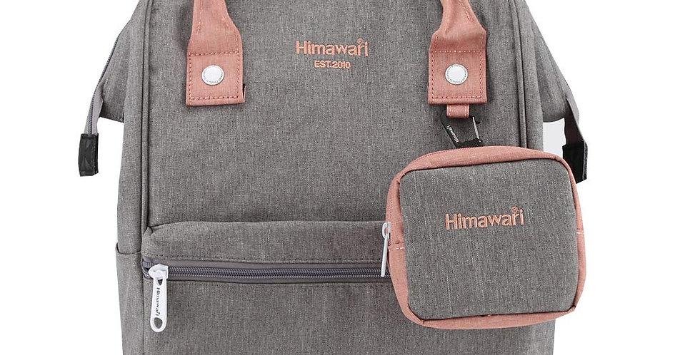 """Himawari Petunia 15"""" Laptop Backpack(2268)-Stone Gray"""
