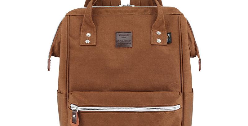 "Himawari Saffron 17"" Laptop Backpack(1882)-Brown"