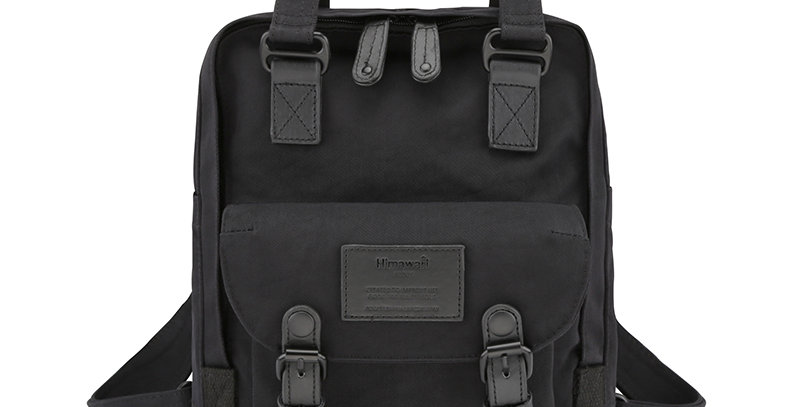 "Himawari Buttercup 11"" Laptop Backpack(HM188S-34)-Blackout"