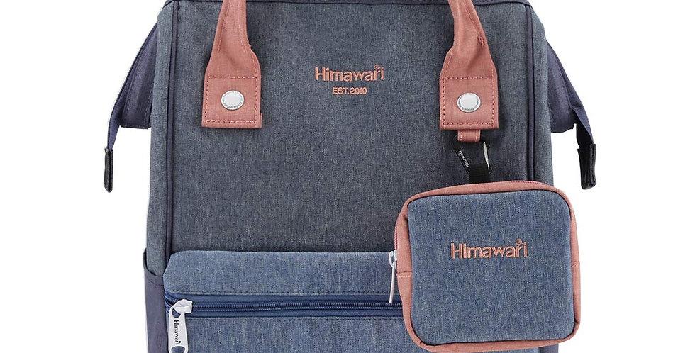 """Himawari Petunia 15"""" Laptop Backpack(2268)-Denim"""